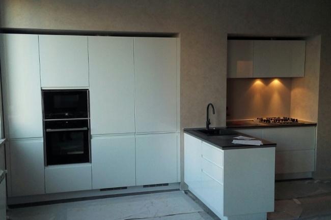 Проектирую эргономичное расположение мебели для кухниМебель и дизайн интерьера<br>По Вашим размерам и фото помещения кухни предложу проект с учетом эргономики, функционала и пожеланий клиента. Проконсультирую по материалам кухонной мебели. Проект будет представлен по стенам и вид сверху с размерами.<br>