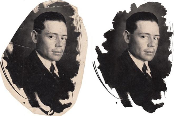 Реставрирую старое фотоОбработка изображений<br>Очищу старое фото от дефектов: царапин, надломов, потёртостей и т.п. Останется только распечатать и оно будет, как новое.<br>