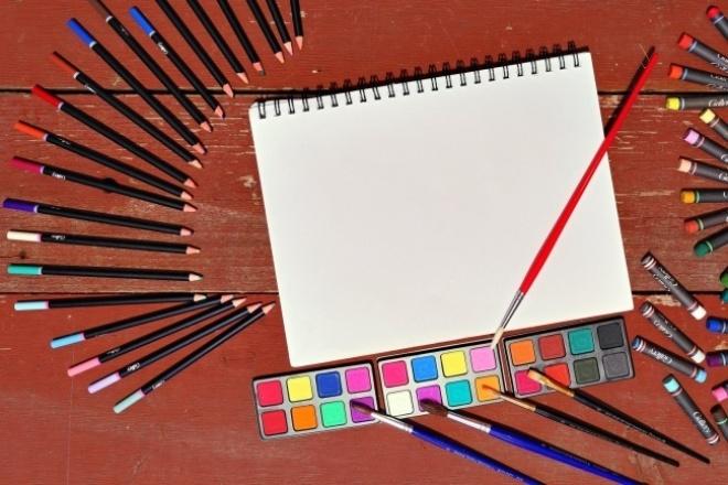 Сделаю наброски карандашом 1 - kwork.ru