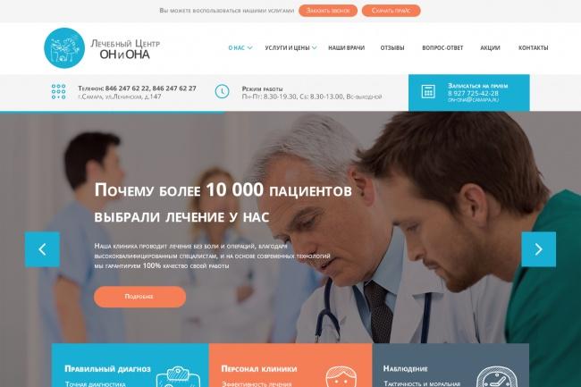 сделаю дизайн сайта 3 - kwork.ru