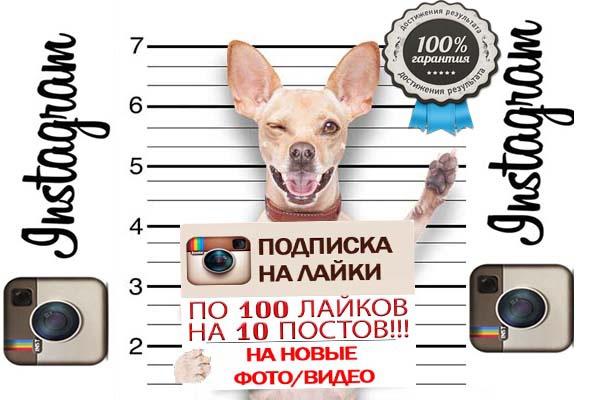 Подписка на лайки 1 - kwork.ru