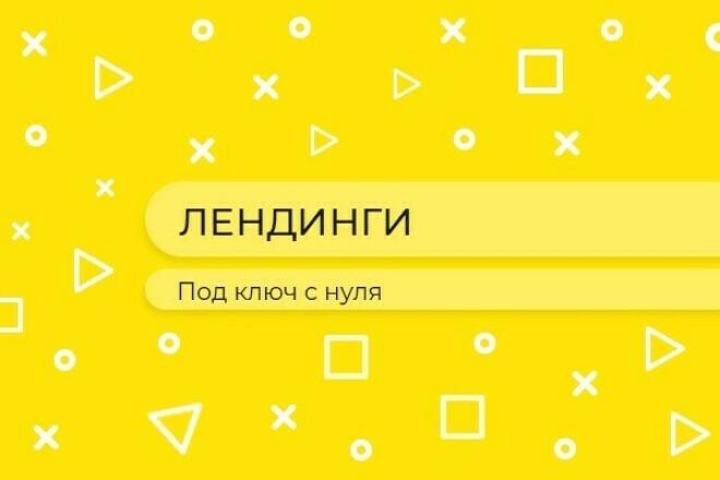 Разработка Landing Page под ключ с нуля 1 - kwork.ru