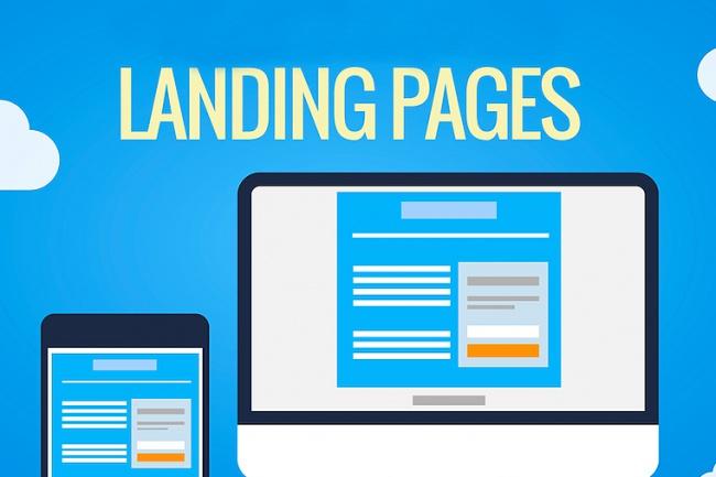 Создам сайт лэндинг, LP Landing-Page на платформе LPmotor.ru под ключ 1 - kwork.ru