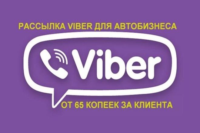 Рекламная кампания для автобизнеса в VIBER - клиенты за 0,65-1 рублейРеклама и PR<br>Рекламная кампания для автобизнеса в VIBER - это привлечение целевой аудитории для Вашего бизнеса по минимальной цене. 1. Цена контакта с целевым клиентом от 0,65 руб до 1 руб. 2. Точное нацеливание рекламы только на реальных владельцев авто , которых можно дополнительно разбить по другим уточняющим параметрам (в т.ч. по уровню дохода). 3. Можно нацелить на конкретный регион. В настоящий момент доступны: Москва и М.о., СПб и ЛО, Воронежская , Нижегородская , Ростовская, Самарская, Волгоградская, Челябинская, Свердловская, Омская, Тверская, Новосибирская, Вологодская, Калужская, Оренбургская области, Краснодарский, Пермский края, Башкортостан, Татарстан. 4. Viber позволяет сделать сделать рекламное сообщение с подробным описанием услуги/товара, привлекающей картинкой, вашим логотипом, вашим телефоном и ссылкой на ваш сайт. Этот кворк подходит Вам, если Ваш бизнес связан с : выкуп, постановка на комиссию и продажа подержанных авто, продажа новых авто, СТО и обслуживание машин, автомойки, шиномонтажи, студии тюнинга авто, установка доп. оборудования, защиты и сигнализации, автостоянки, юридическая экспертиза по ДТП, предложение автокредитов, тест-драйвы, продажа полисов каско и осаго.<br>