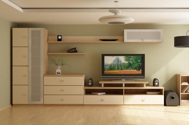 Нарисую чертеж мебели в программе kompas 3d 1 - kwork.ru