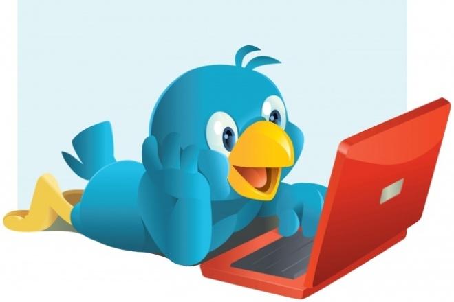 Twitter 2000 подписчиков, живые людиПродвижение в социальных сетях<br>Твиттер является одной из самых популярных и посещаемых сетей микроблогов. Численность аудитории на сегодняшний день составляет около 284 млн подписчиков и увеличивается с каждым днем. Повысить рейтинг своего аккаунта в Твиттере можно различными способами. Накрутка читателей в Твиттере с помощью ботов. Этот способ считается нежелательным, а в ряде случаев – приводящим к блокировке аккаунта. Более легальный способ достижения нужного рейтинга – это живые люди - фолловеры, которые выполняют различные задания за деньги. В одном кворке 2000 таких подписчиков - фолловеров со всего мира. Возможны отписки в пределах примерно 1%.<br>