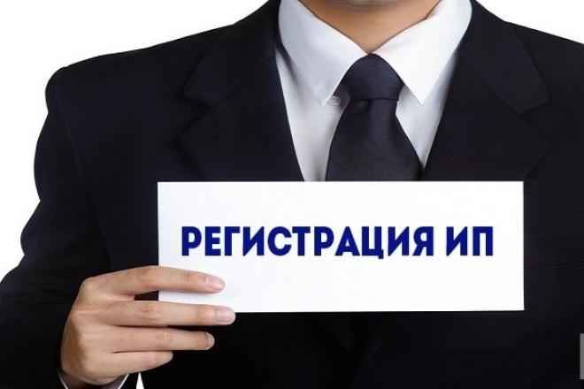 Подготовлю полный пакет документов для регистрации ИП 1 - kwork.ru