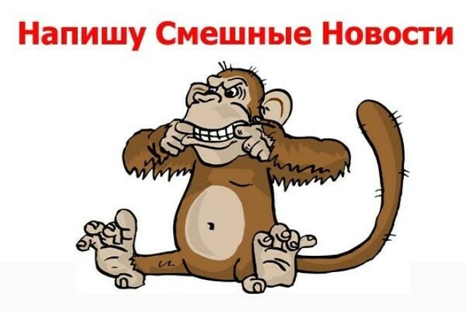 Напишу смешные новости про ваши товары и услуги 1 - kwork.ru