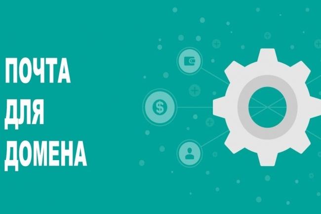 Подключить домен к почте Яндекс или Майл. ру 1 - kwork.ru