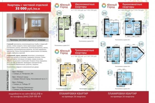 Создание листовки, буклета 1 - kwork.ru