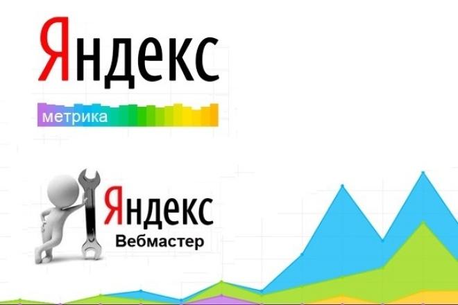 Размещу код счетчиков и настрою Яндекс.Вебмастер и Яндекс.Метрику 1 - kwork.ru