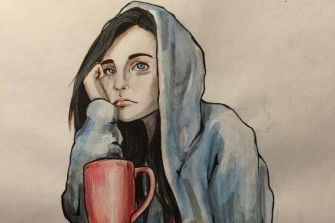 Создам портрет вашего персонажа для YouTube и ИнстраграмИллюстрации и рисунки<br>Создам портрет в подобном стиле вашего персонажа, согласно вашим пожеланиям. Помогу создать образ. Могу предложить два варианта портрета на выбор. Также обработка в photoshop.<br>