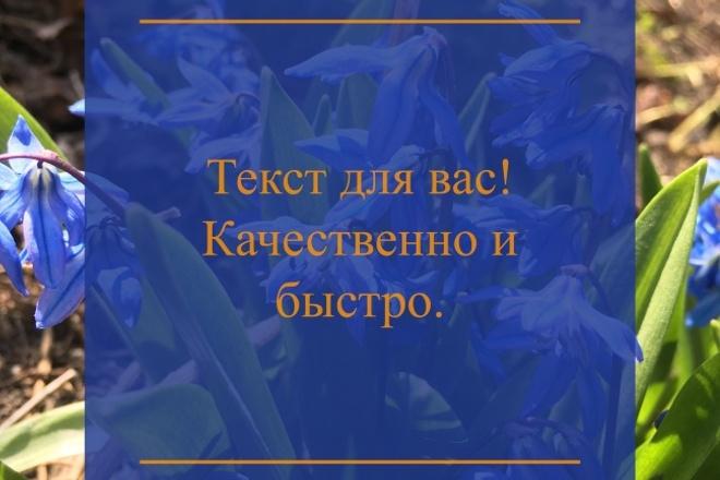 Качественный текст для вас 1 - kwork.ru