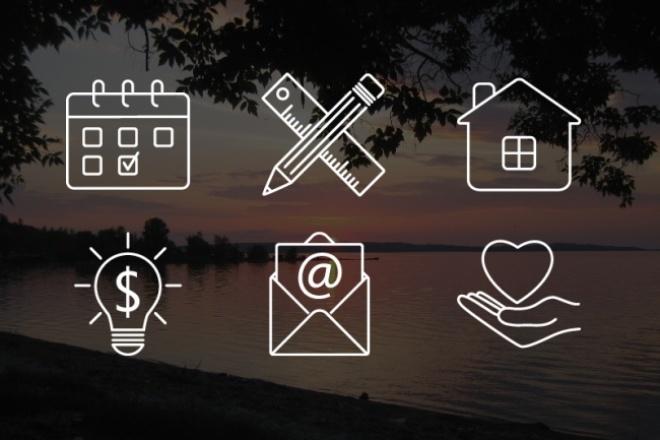 Нарисую 9 иконок + бонус 1 - kwork.ru