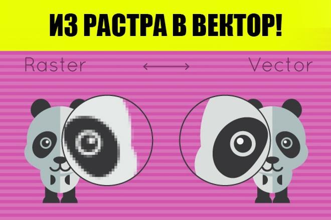 Отрисую Ваш логотип в векторе 1 - kwork.ru