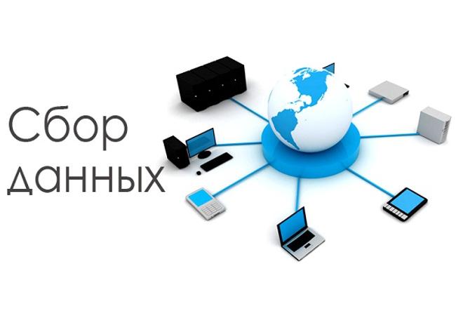 Сбор информации с открытых источников 1 - kwork.ru