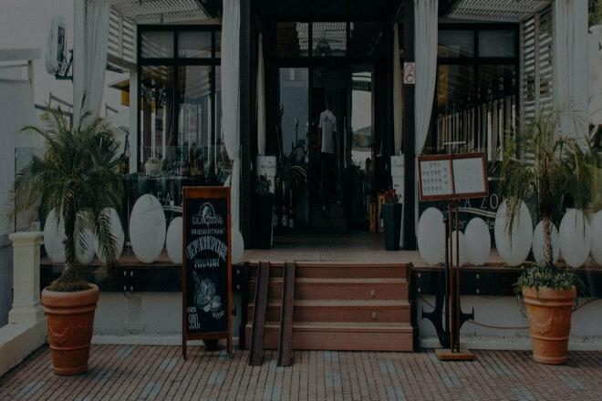 Готовый сайт Landing page для кафе, ресторана 1 - kwork.ru