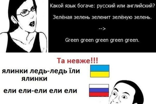 Перевожу с украинского/на украинский 1 - kwork.ru
