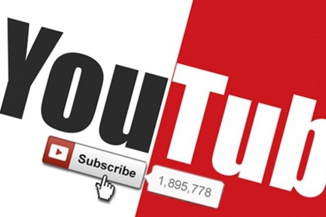 +250 подписчиков на YouTube 1 - kwork.ru