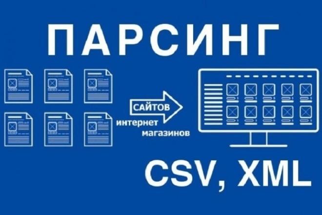Парсинг любых сайтов 1 - kwork.ru