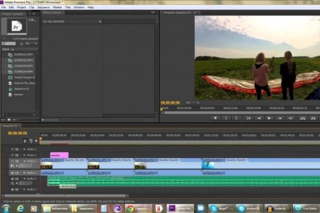 Сделаю монтаж видеоМонтаж и обработка видео<br>Сделаю монтаж двух видео. Монтаж любой сложности. Предварительный просмотр видео. Если у вас есть какие либо пожелание, пишите.<br>