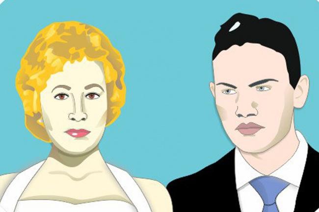Рисую векторные портреты по фото 1 - kwork.ru