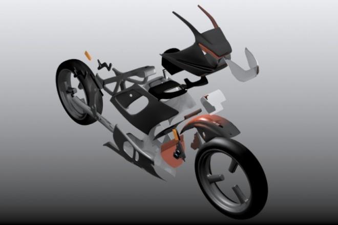 Создаю 3D модель, персонажа или объекта 1 - kwork.ru