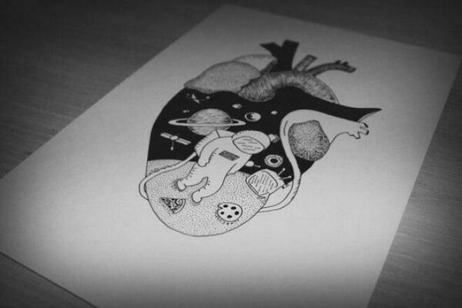 Нарисую эскиз тату, разработаю рисунок для панно к вашему интерьеру 1 - kwork.ru