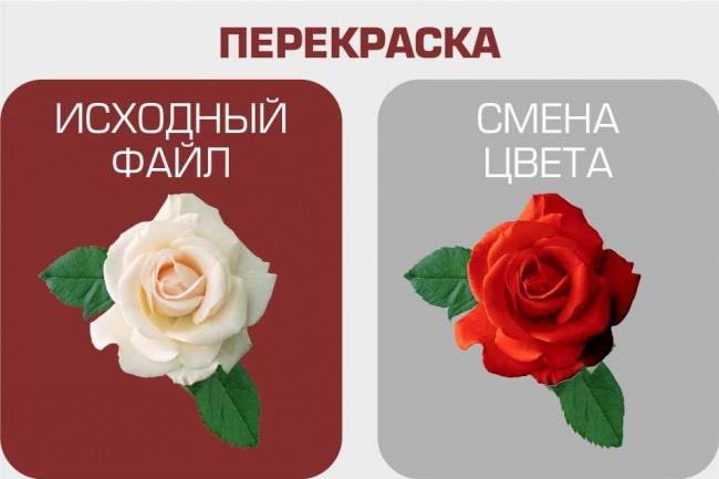 поменяю цвет (материал) отдельных деталей фото 1 - kwork.ru