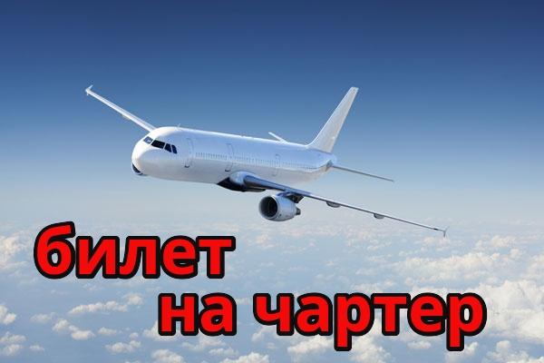 Помогу забронировать билет на чартер 1 - kwork.ru