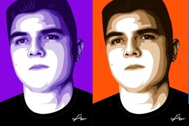 Цифровой портрет по фотоИллюстрации и рисунки<br>Нарисую портрет по вашему фото. Портреты выполняются в высоком разрешении поэтому они подходят не только для аватарок в соц сетях, но и на печать больших форматов, а также для принтов на футболки, кружки и т. д.<br>