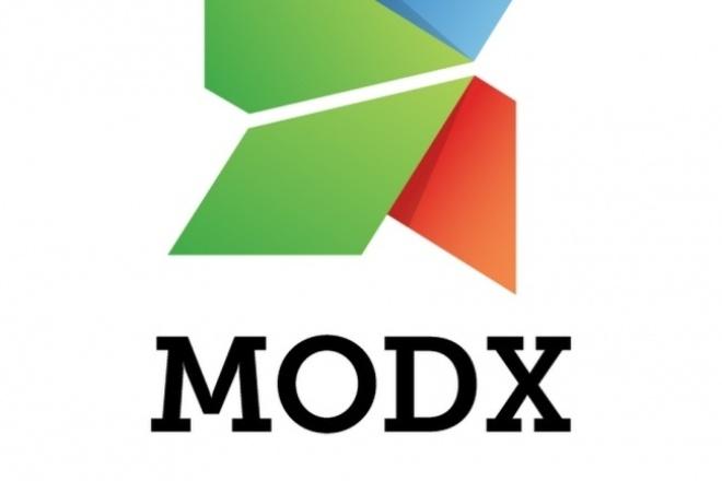 Установлю и настрою CMS MODx на вашем хостинг-сервере 1 - kwork.ru