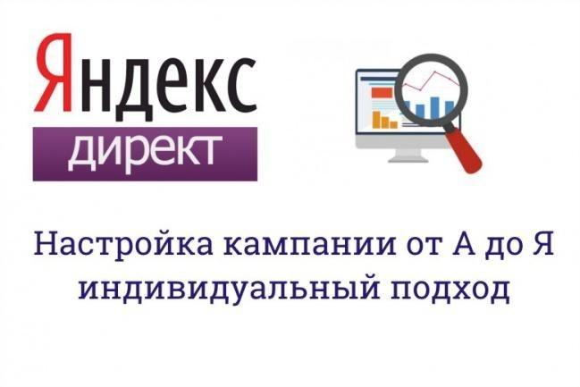 Настройка Яндекс Директ и РСЯ кампании 1 - kwork.ru