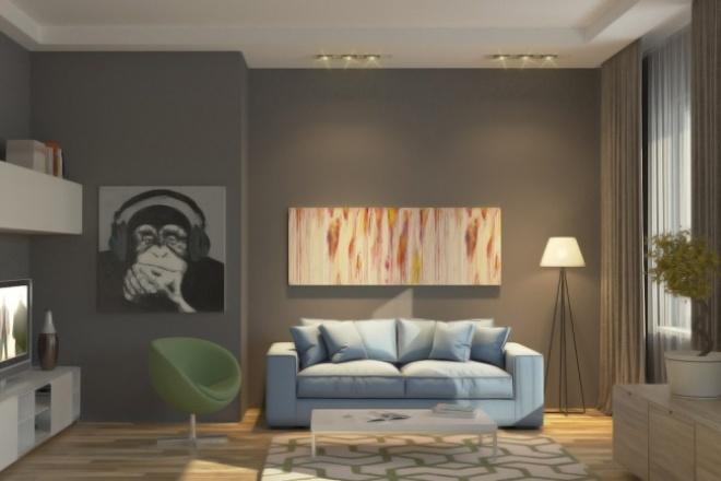 Создам визуализацию интерьераМебель и дизайн интерьера<br>Визуализация интерьера в кратчайшие сроки. Дизайн по вашим чертежам и пожеланиям, либо разработанный мной.<br>