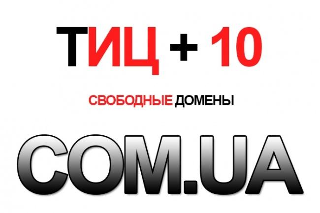 Найду для Вас базу освободившихся Доменов COM. UA 1000 + штук 1 - kwork.ru