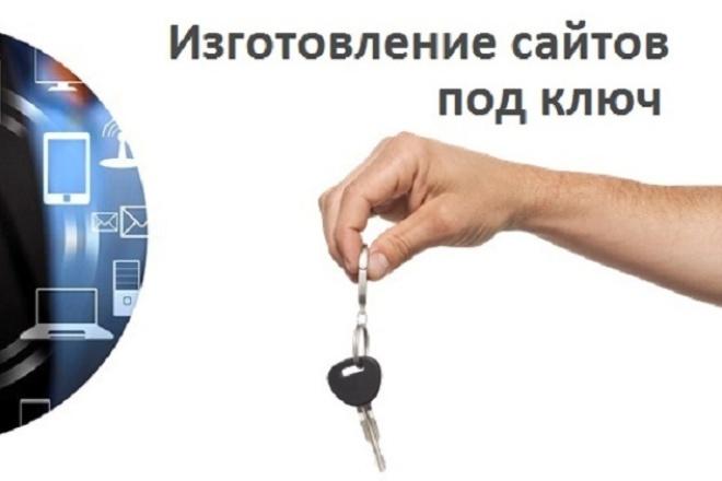 Создам для Вас сайт под ключ 1 - kwork.ru