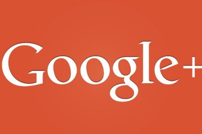 помогу привлечь плюсы/подписчиков на Ваш Google Plus 1 - kwork.ru