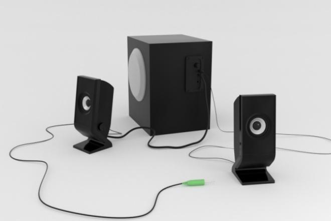 3D-моделинг и визуализация 1 - kwork.ru