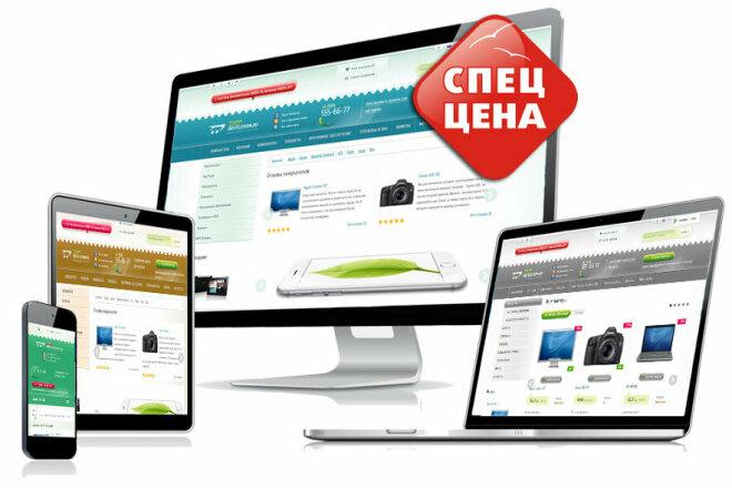 Готовый интернет-магазин с живым дизайном 21 - kwork.ru