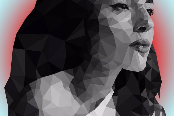 Создаю полигональные портреты 1 - kwork.ru