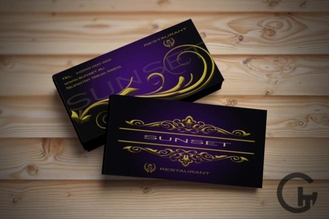 Сделаю дизайн визитной карточкиВизитки<br>Предлагаю для вас дизайн визитной карточки Возможность вносить правки и исправления. Один дизайн визитки. Визитка в формате .jpeg.<br>