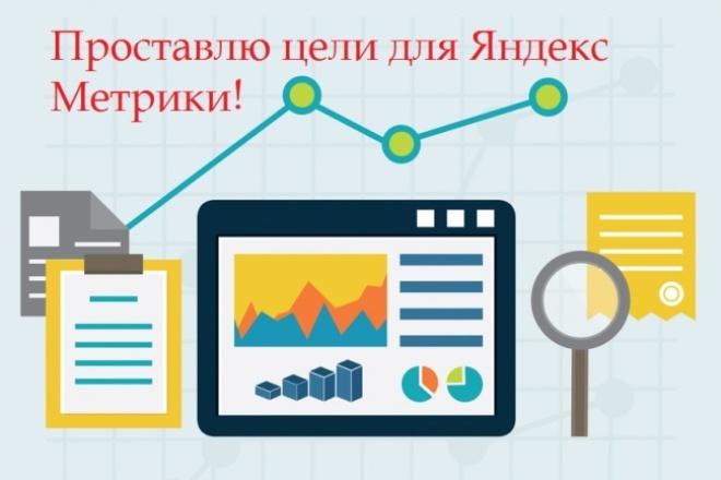 Настрою цели в Яндекс МетрикеСтатистика и аналитика<br>Я проставлю цели в Яндекс Метрике для вашего сайта! Настроить цели можно на: 1) просмотр страницы контактов (то есть посещение определенной страницы на сайте); 2) отправку заявки 3) общение с оператором в онлайн-чате; 4) покупку или заказ услуги. Настройка целей крайне важна когда мы хотим понять, на каком этапе, почему, а главное — сколько посетителей отказываются от покупки. Грамотная настройка целей полезна для ремаркетинга, того самого механизма, который позволяет возвращать на сайт пользователей, которые на нем уже были. Эффективное ведение любой рекламной кампании без проставления целей практически невозможно!<br>