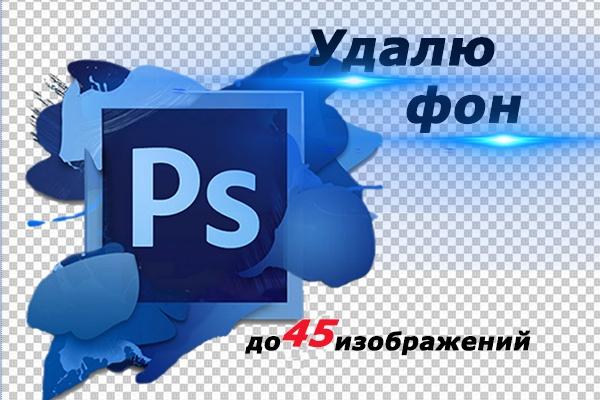 Удалю фон. До 45 изображений 1 - kwork.ru