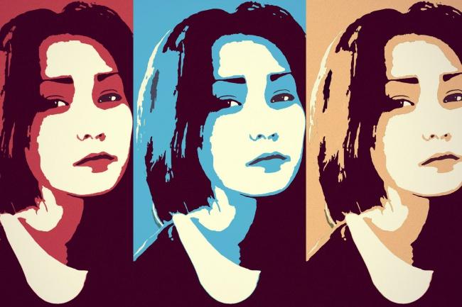 Стилизованные фото-портреты 1 - kwork.ru