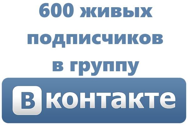 Приведу 600 человек в группу или страницу ВК 1 - kwork.ru