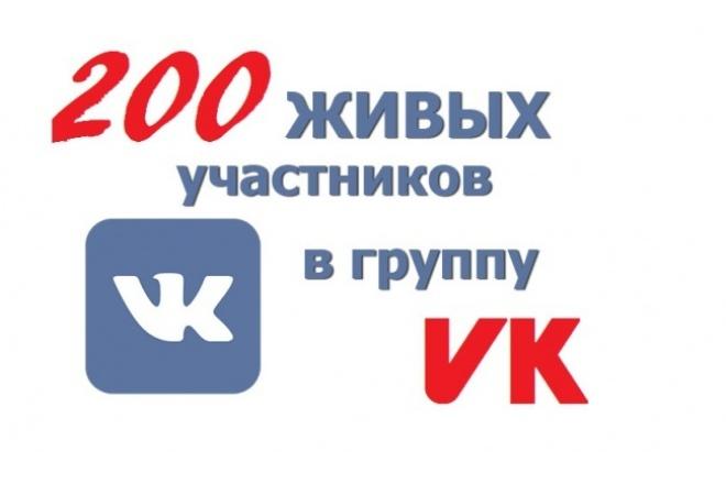Накрутка 200 подписчиков в группу в контакте 1 - kwork.ru
