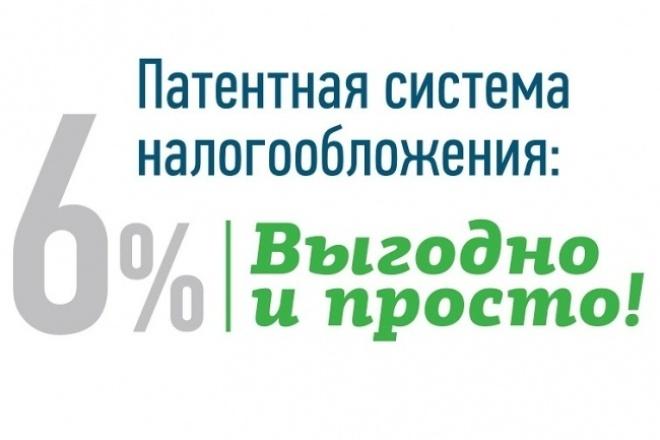 Подготовлю заявление на получение патента 1 - kwork.ru