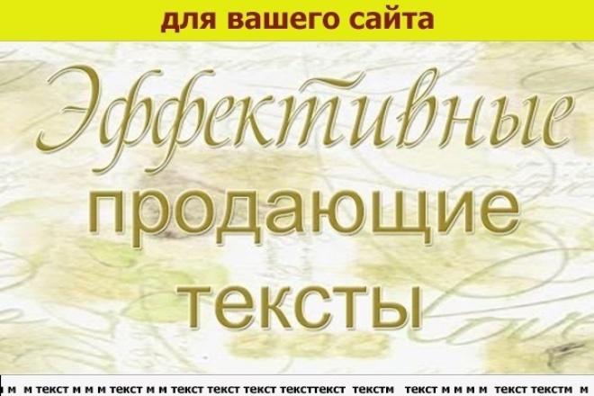 напишу хороший текст для сайта 1 - kwork.ru