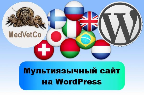 WordPress. Мультиязычный сайт 1 - kwork.ru