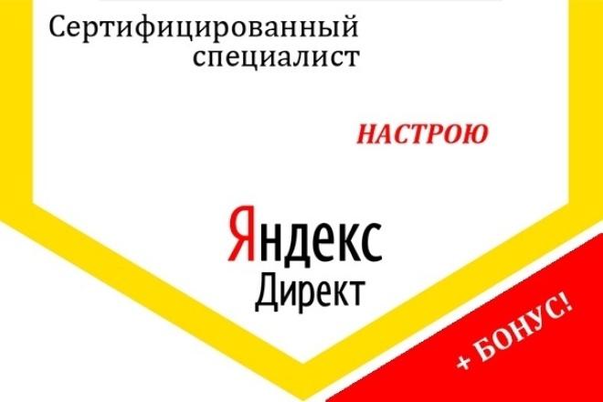 Профессиональная настройка Яндекс Директ. Сертифицированный специалист 1 - kwork.ru